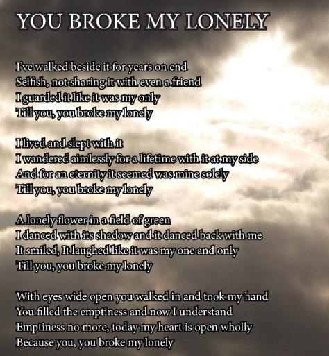 Broke My Lonely
