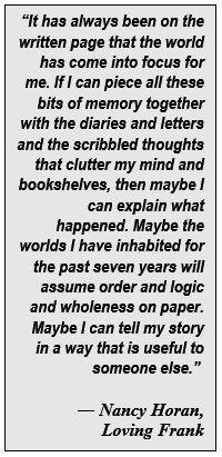 Nancy Horan Quote