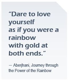 Aberjhani Rainbow quote